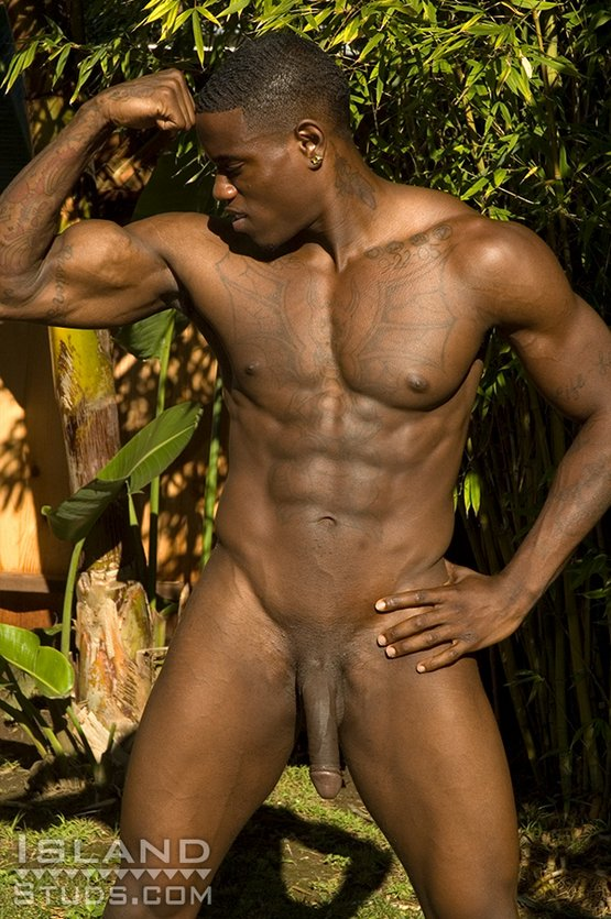 a black ganster rapper guy pissing naked