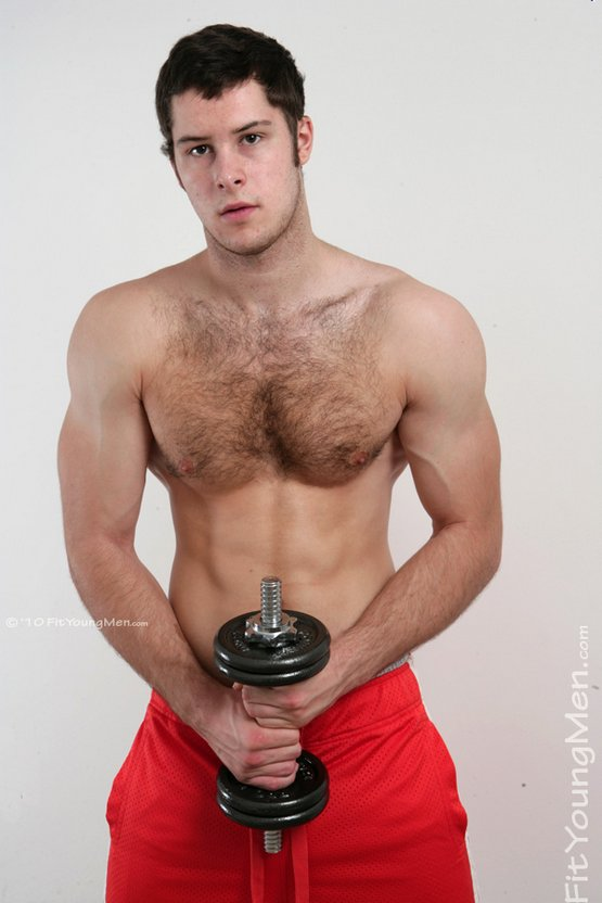 Hairy Fit Young Men