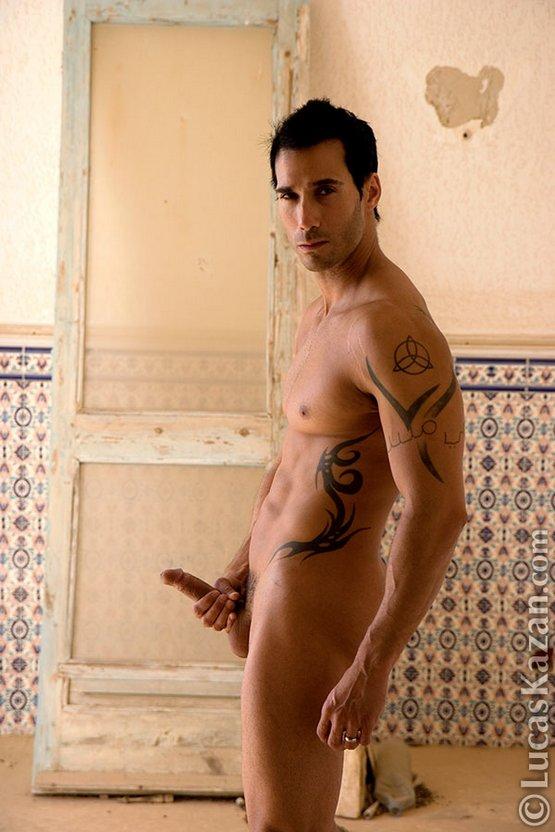 Black male model nude