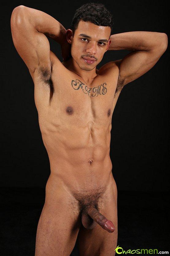Fit muscular gay men