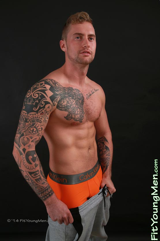 Bisexual male porn star aj